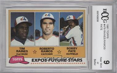 1981 Topps #479 - Tim Raines [ENCASED]