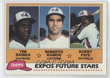 1981 Topps #479 - Tim Raines