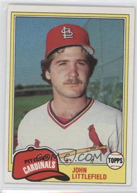 1981 Topps #489 - John Littlefield