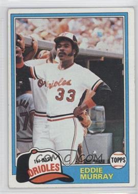 1981 Topps #490 - Eddie Murray
