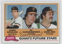 Giants Future Stars (Chris Bourjos, Al Hargesheimer, Mike Rowland)