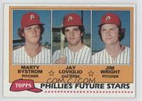 Marty Bystrom, Jay Loviglio, Jim Wright