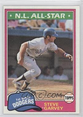 1981 Topps #530 - Steve Garvey