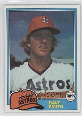 1981 Topps #534 - Dave Smith