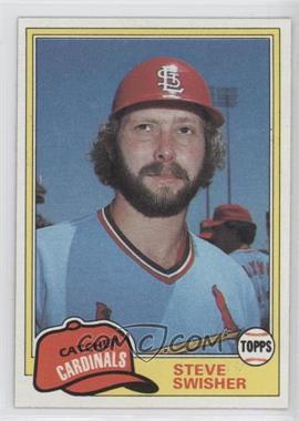 1981 Topps #541 - Steve Swisher