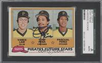 Vance Law, Tony Pena, Pascual Perez [SGC AUTHENTIC AUTO]