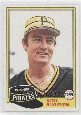 1981 Topps #554 - Bert Blyleven
