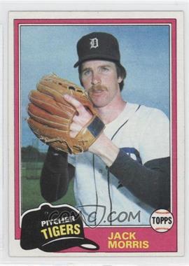 1981 Topps #572 - Jack Morris