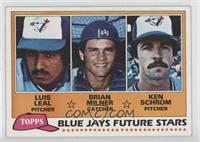 Blue Jays Future Stars (Luis Leal, Brian Milner, Ken Schrom)