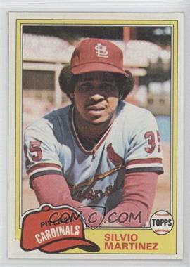 1981 Topps #586 - Silvio Martinez