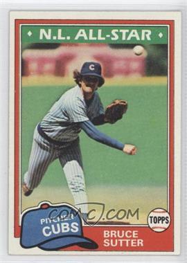 1981 Topps #590 - Bruce Sutter
