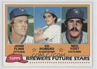 John Flinn, Ed Romero, Ned Yost