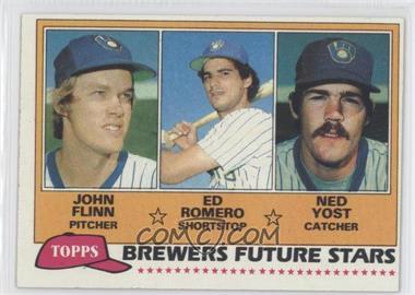 1981 Topps #659 - John Flinn, Ed Romero, Ned Yost