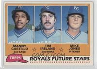 Manny Castillo, Tim Ireland, Mike Jones