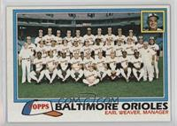 Baltimore Orioles Team