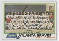 Atlanta Braves Team [Poor to Fair]