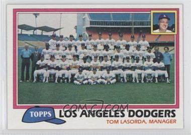 1981 Topps #679 - Los Angeles Dodgers Team Checklist (Tom Lasorda, Manager)