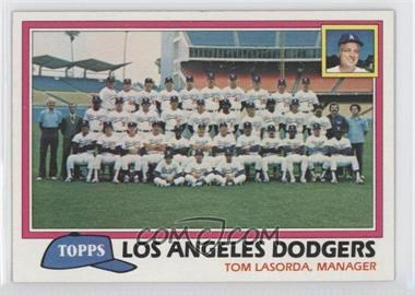 1981 Topps #679 - Los Angeles Dodgers Team Checklist (Tom Lasorda, Manager)