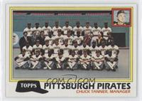 Pittsburg Pirates Team Checklist (Chuck Tanner, Manager)