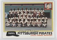 Pittsburg Pirates Team Checklist (Chuck Tanner, Manager)