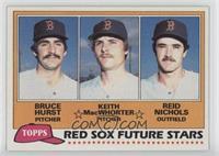 Red Sox Future Stars (Bruce Hurst, Keith MacWhorter, Reid Nichols)