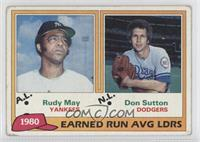Rudy May, Don Sutton [Good to VG‑EX]