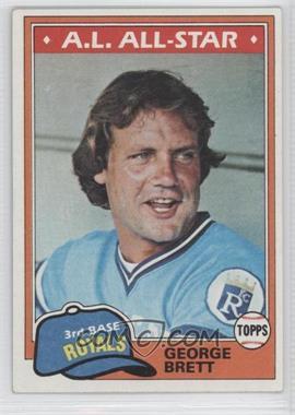 1981 Topps #700 - George Brett