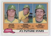 Dave Beard, Ernie Camacho, Pat Dempsey