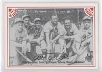 Enos Slaughter, Curt Davis, Mort Cooper, Johnny Mize, Terry Moore, Jimmy Brown