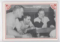 Ed Lopat, Yogi Berra, Mickey Mantle