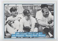 Joe Pepitone, Whitey Ford, Mickey Mantle