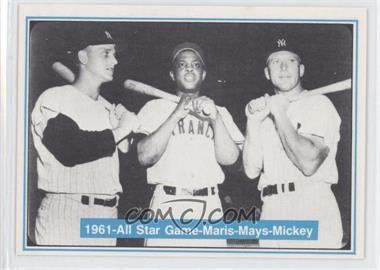 1982 ASA The Mickey Mantle Story #41 - Roger Maris, Willie Mays, Mickey Mantle