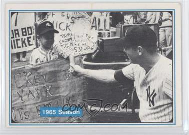 1982 ASA The Mickey Mantle Story #54 - Mickey Mantle