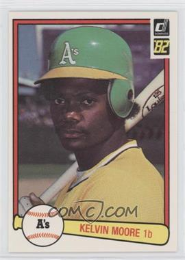 1982 Donruss - [Base] #534 - Kelvin Moore