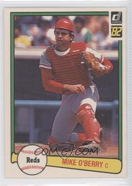 1982 Donruss - [Base] #538 - Mike O'Berry