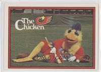 San Diego Chicken (Error: No Trademark on Front)