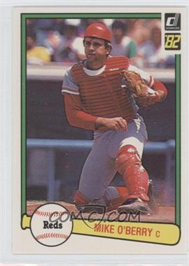 1982 Donruss #538 - Mike O'Berry