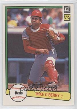 1982 Donruss #538 - Mike O'Berry