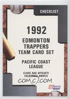 Edmonton Trappers Team