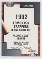 Edmonton Trappers Team