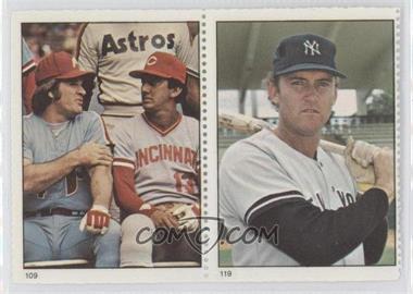 1982 Fleer Stamps - [Base] #109-119 - Pete Rose, Graig Nettles