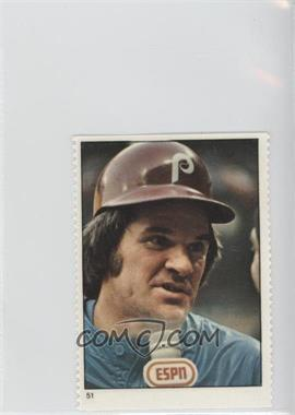 1982 Fleer Stamps - [Base] #51 - Pete Rose