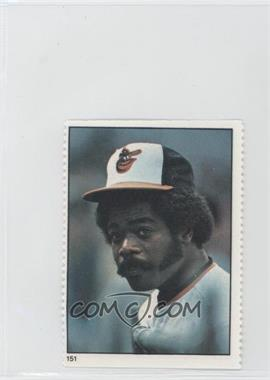 1982 Fleer Stamps #151 - Eddie Murray