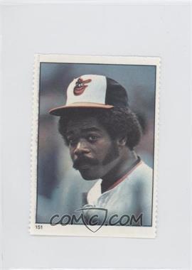 1982 Fleer Stamps #151 - Eddie Murray