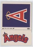 California Angels logo (hat logo)