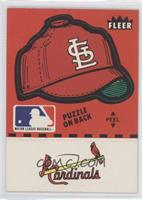 St. Louis Cardinals logo (hat logo,