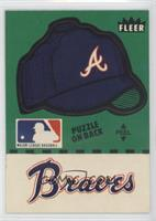 Atlanta Braves Hat (Puzzle on Back)