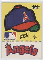 California Angels Hat (Puzzle on Back)