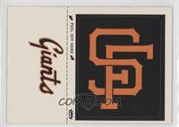 San Francisco Giants Hat Emblem