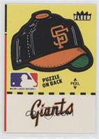 San Francisco Giants Hat (Puzzle on Back)